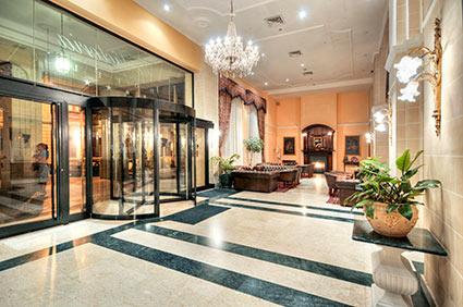 Rezeption Victoria Hotel Malta